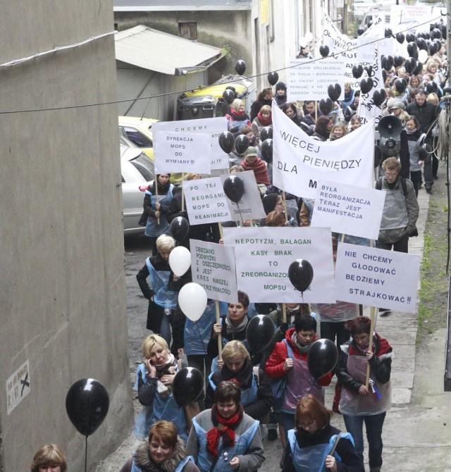 Ostatni raz pracownicy łódzkiego MPOS protestowali w lutym