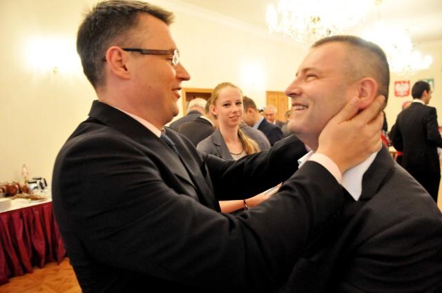 Janusz Kubicki i Robert Dowhan