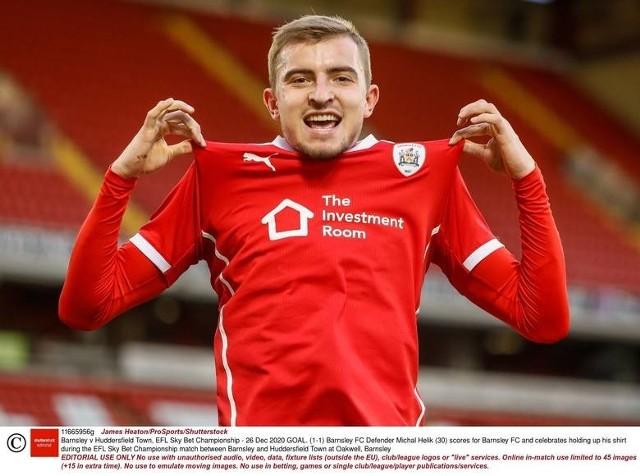 Michał Helik w barwach Barnsley rozegrał wiele świetnych meczów