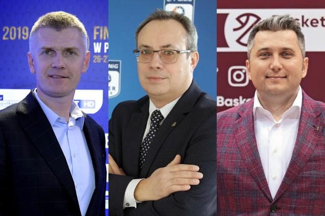 Prezesi profesjonalnych lig siatkówki, piłki ręcznej oraz koszykówki