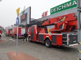 Konin: Pożar w galerii handlowej Ferio [ZDJĘCIA]