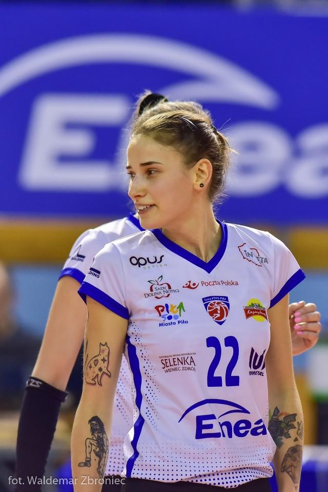24-letnia Sylwia Kucharska pochodzi z Murowanej Gośliny. Tam też rozpoczynała swoją przygodę z dorosłą siatkówką