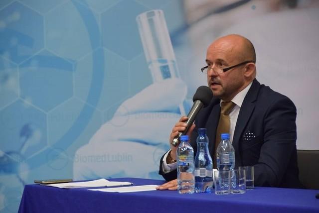 Piotr Fic, pełniący obowiązki prezesa Biomed Lublin