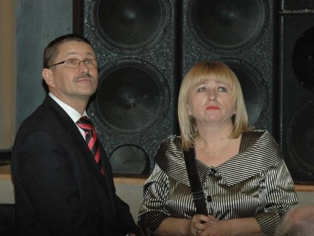 Jan Zubowski przyszedł do ośrodka kultury ze swoją żoną