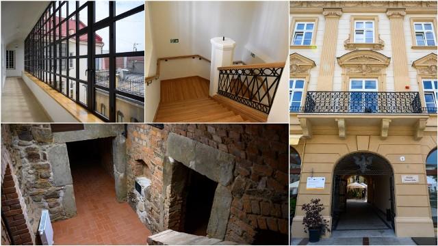Kamienica przy Rynku 4 w Tarnowie przeszła kapitalny remont, dzięki któremu udało się m.in. przywrócić jej pierwotny wygląd i zabytkowy wystrój. Teraz pełnić ma rolę tarnowskiego centrum nauki