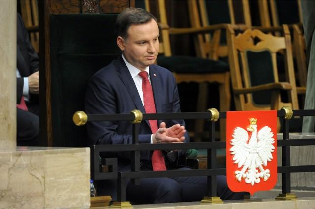 Prezydent RP Andrzej Duda