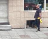 Mężczyzna podejrzany o niszczenie aut w centrum miasta w rękach policji