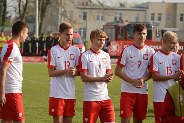 Reprezentacja Polski U15 pokonała w Nowym Dworze rówieśników z Islandii 4:0