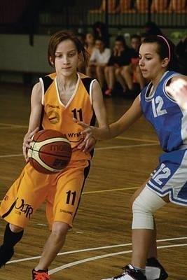 Magdalena Kubowicz (z lewej) zebrała sporo pochwał za swoją grę od trenera Fot. Maciej Zubek