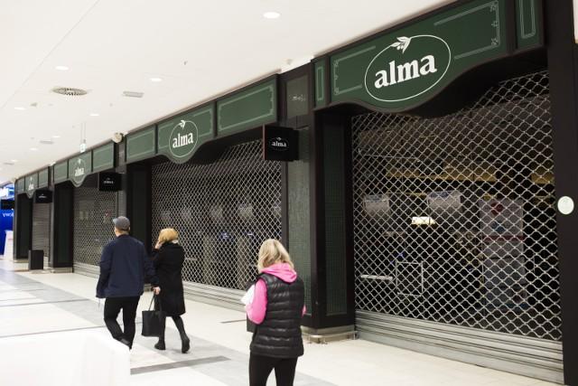 Jeszcze nie wiadomo jaki sklep powstanie po Almie