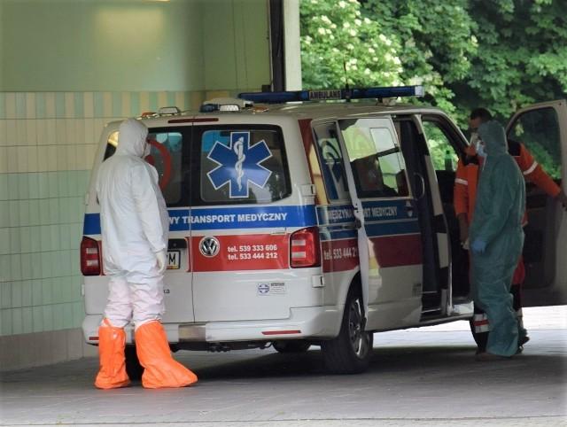 Chory z COVID uciekł ze szpitala