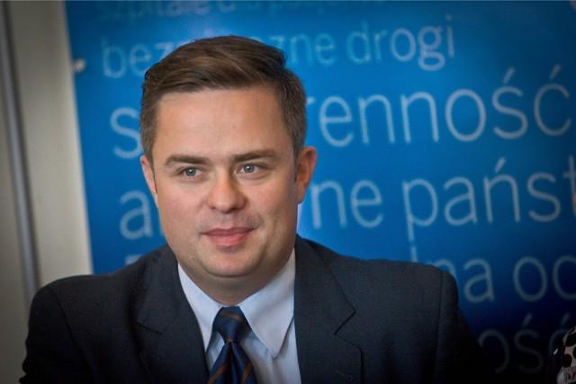 Nowa praca, nowe wyzwania. Czy Adam Hofman im sprosta? fot. janusz wojtowicz / polskapresse gazeta wroclawska