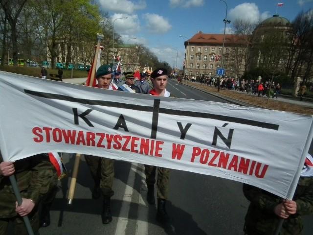 Poznańskie obchody 75. rocznicy zbrodni katyńskiej