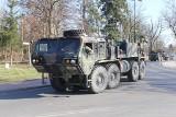 Konwój wojsk NATO jedzie przez Wielkopolskę i Poznań [ZOBACZ ZDJĘCIA]