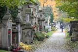 Kraków. Groby znanych i zasłużonych osób na cmentarzach: Rakowickim, Salwatorskim, Podgórskim oraz na Wawelu i w Krypcie na Skałce