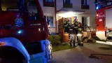 Pożar na osiedlu mieszkaniowym w Szczecinku [zdjęcia]