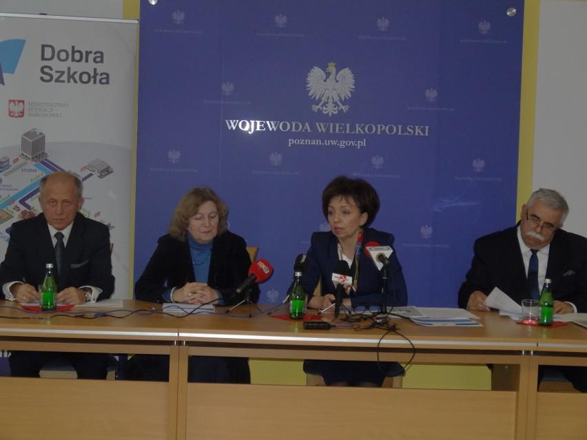 Wielkopolska kurator oświaty i wicewojewoda mówiły o tym, jak przebiegają w Wielkopolsce przygotowania do reformy