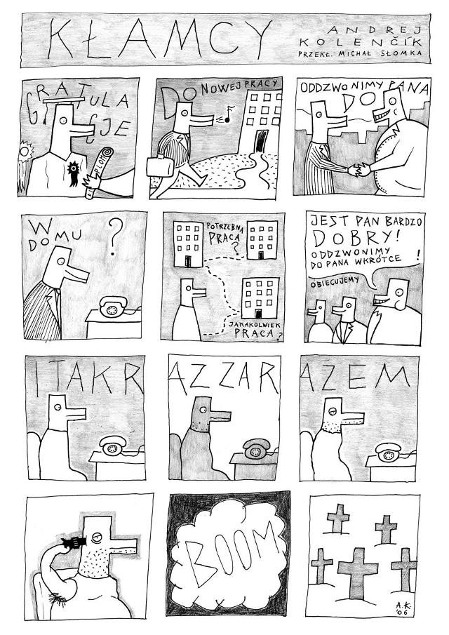 W ramach Absolut Slowak zobaczymy komiksy autorstwa naszych słowackich sąsiadów