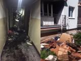 Dwa pożary w tym samym bloku przy ul. Króla Rogera w Lublinie w ciągu kilkunastu godzin