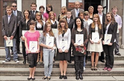 Laureaci szczecińskiej VIII edycji konkursu.