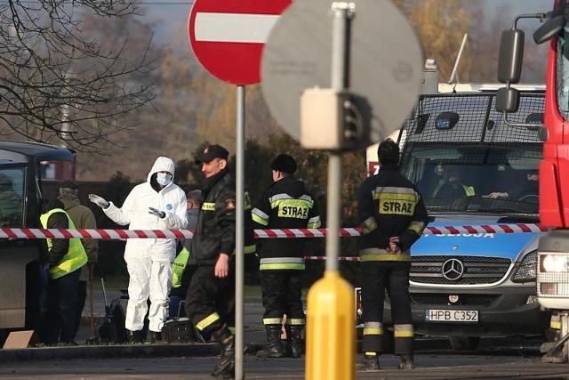 Do strzelaniny doszło podczas próby obrabowania bankomatu przy drodze z Wrocławia do Trzebnicy