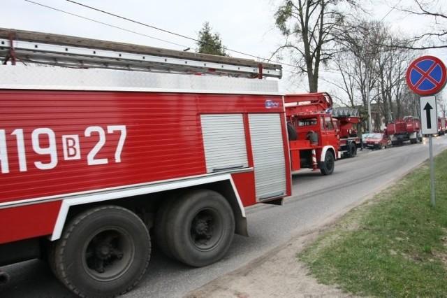 Straż pożarna na pomoc wysłała od razu sześć zastępów