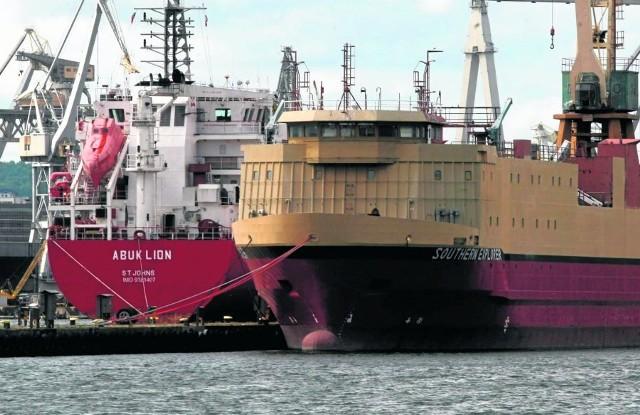 SMW specjalizuje się w budowie i remontach statków