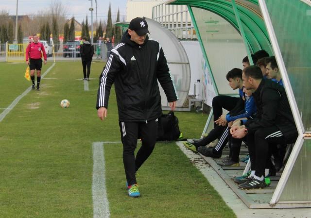 Paweł Załoga był tylko zadowolony z połowy meczu w Boguchwale