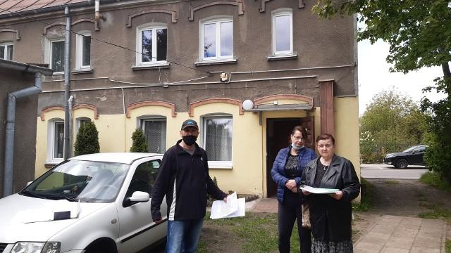 Mieszkańcy kamienic przy ul. Ogrodowej nie chcą się wyprowadzać. Miasto proponuje im mieszkania, które nie spełniają ich oczekiwań.