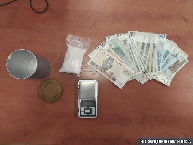 Narkotyki przejęte przez włoszczowskich kryminalnych