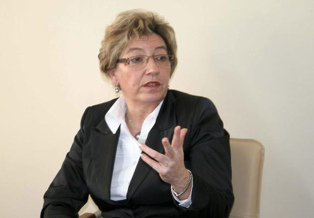 Halina Janiszek, przez 36 lat  związana z pomocą społeczną.
