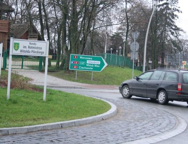 Nazwiskiem rotmistrza Pileckiego nazwano pierwsze rondo w Ostrowi