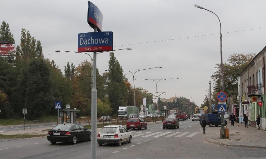 W tym roku na skrzyżowaniu Rzgowska-Dachowa zginęła 1 osoba,...