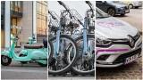 Podróż po mieście na minuty. Współdzielony transport w Trójmieście. Samochody, skutery, rowery i hulajnogi