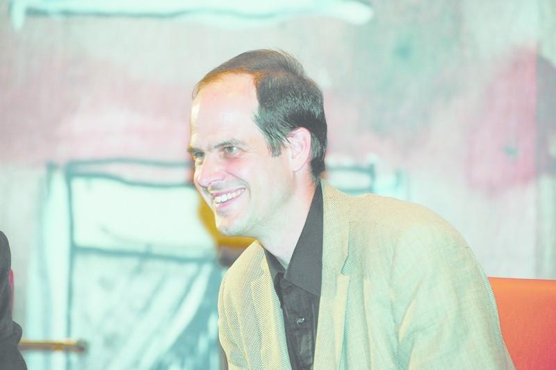Matthias Kneip błyszczał w Opolu anegdotami i znajomością polskiego.
