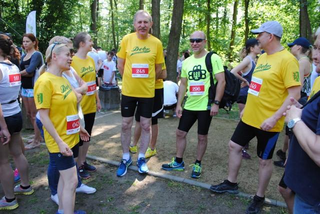 I ruszyło ponad  300 biegaczy. Do pokonania mieli 5 kilometrów wokół jeziora w Borównie. Dla  Angeliki  SaganowskiejSztab biało-czerwonych rozpracowuje mundialowych przeciwników: