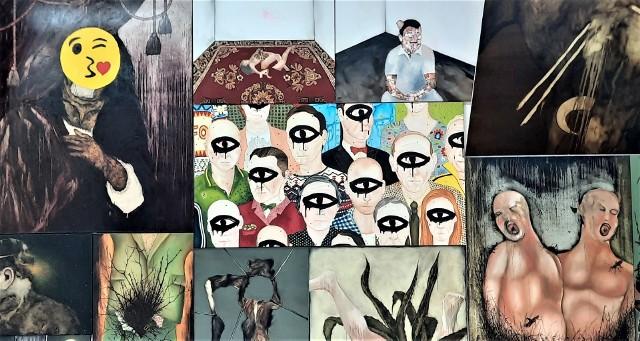 """Wystawa """"Pulpa"""" Michała Jankowskiego w Galerii BWA w Zielonej Górze (25 marca – 18 kwietnia 2021)"""