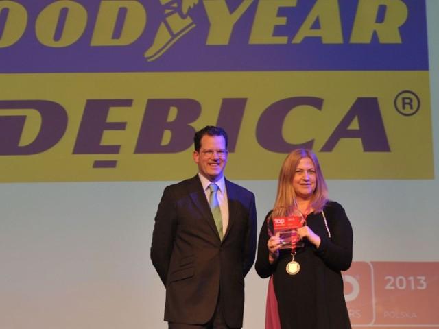 Wyróżnienie dla Firmy Oponiarskiej Dębica i GoodyearTo kolejne wyróżnienie Instytutu CRF za wysoką jakość polityki personalnej w Firmy Oponiarskiej Dębica oraz Goodyear.