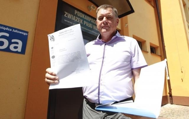 Benedykt Czajkowski uważa, że związek nie miał podstaw do wykluczenia Crasnovii z rozgrywek.