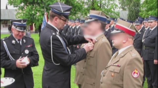 Przebierany oficer został nawet odznaczony za zasługi