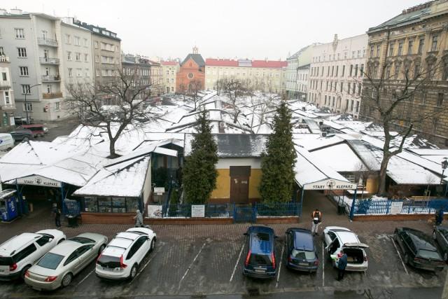 Miasto wyłoży 8 mln zł na przebudowę targowiska Stary Kleparz.