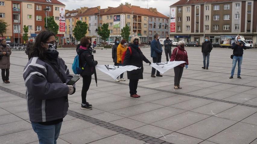Akcja: Plac Obywatelskiego Nieposłuszeństwa w Koszalinie [ZDJĘCIA]
