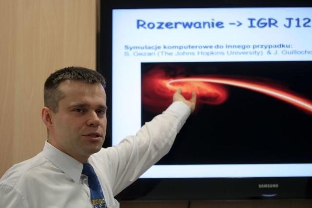 Dr Marek Nikołajuk, białostocki naukowiec z UwB