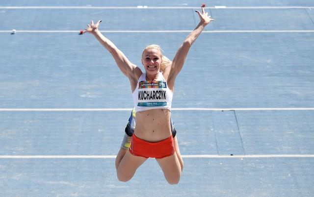 Karolina Kucharczyk umie się cieszyć po wygranych zawodach. Oby w Tokio miała dużo powodów do radości