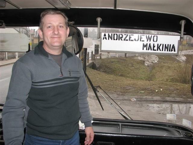 Kierowcą autobusu, który już nie jeździ, był Roman Kempisty