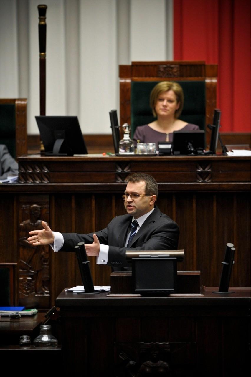 Zbigniew Girzyński - skręt na prawo