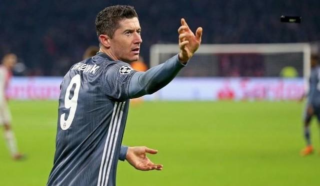 Na zdjęciu: Robert Lewandowski. Mecz Bayern Monachium - RB Lipsk odbył się w ramach 16. kolejki Bundesligi. Mistrzowie Niemiec wygrali 1:0. Tym razem Robert Lewandowski bez bramki [wynik meczu, relacja]