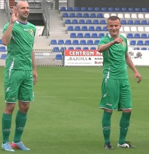 Łukasz Stasiak i Adrian Solczak