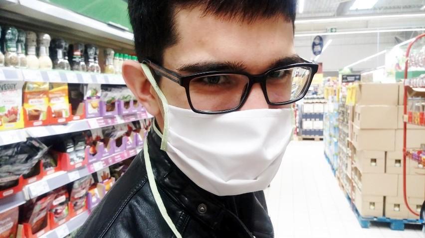 Nakaz zakrywania ust i nosa nie stosuje się w przypadku:...