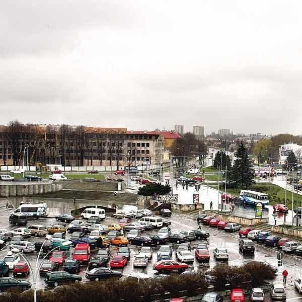 Tak wygląda centrum Rzeszowa. Na razie po obróbce grafika Nowin. Wkrótce być może w rzeczywistości.